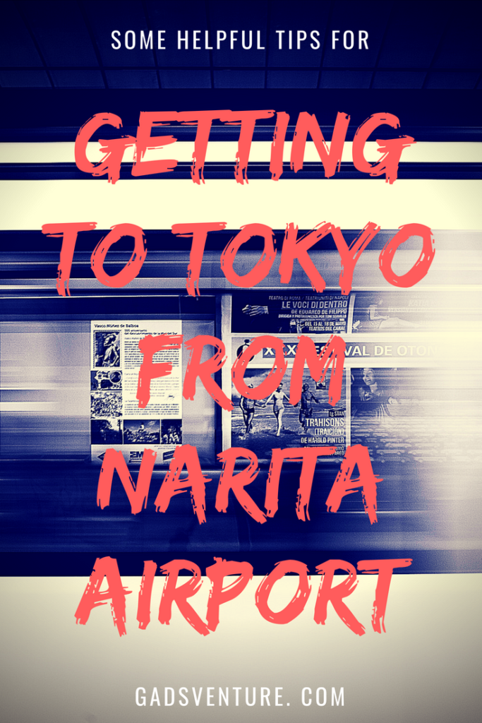 Getting to Tokyo from Airport
