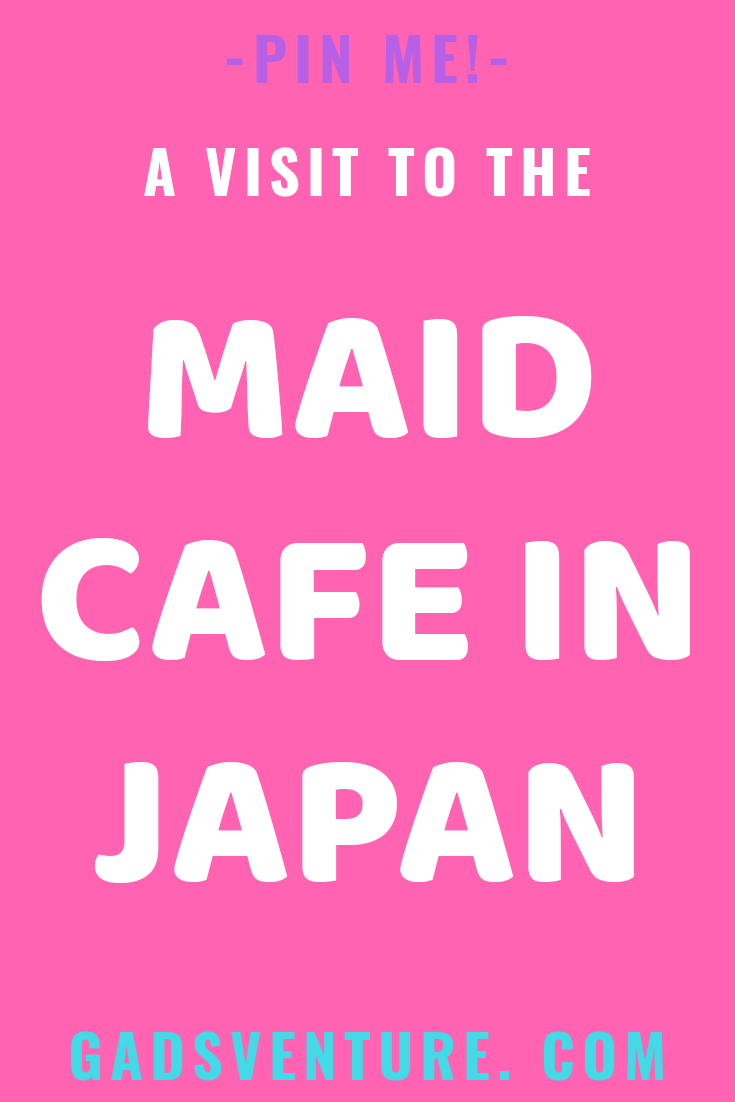 Maid cafe in Japan