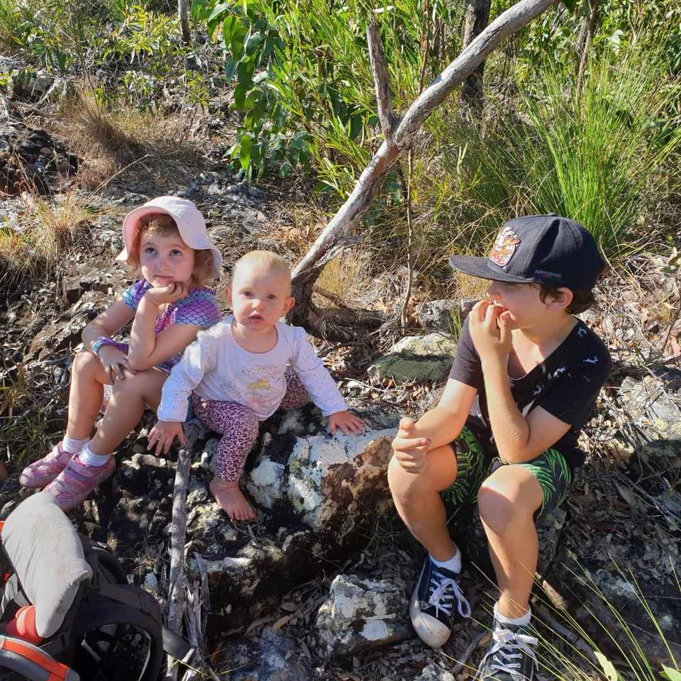 Hiking with the children