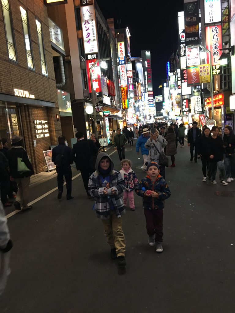 tokyo japan itinerary