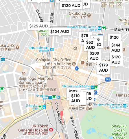 best area to stay tokyo