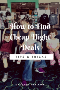 How to find cheap flight deals