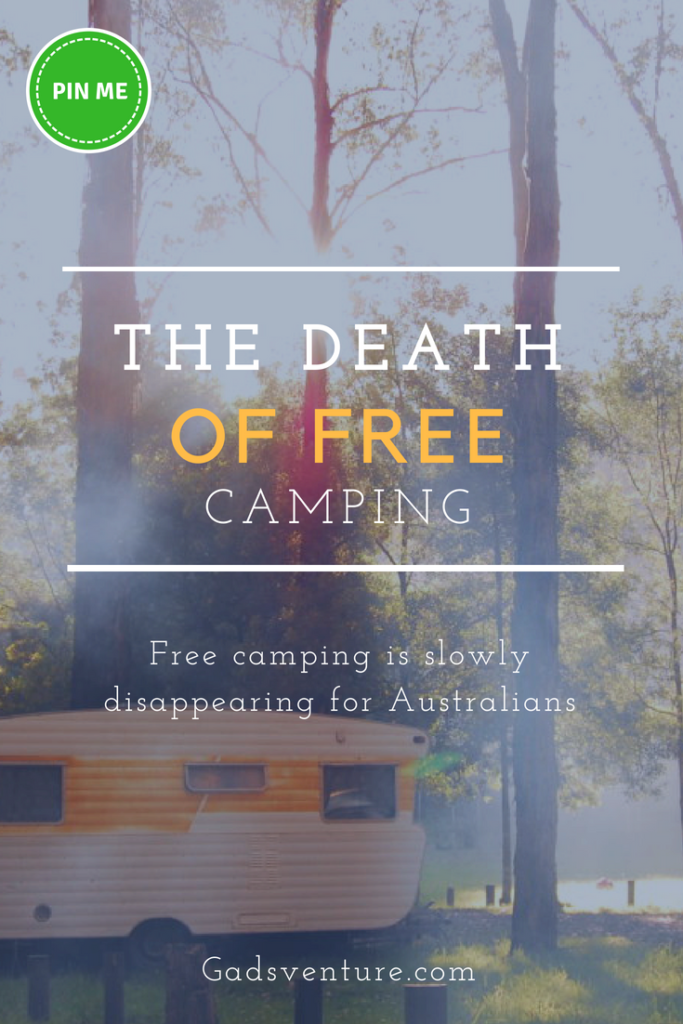 The death of free camping