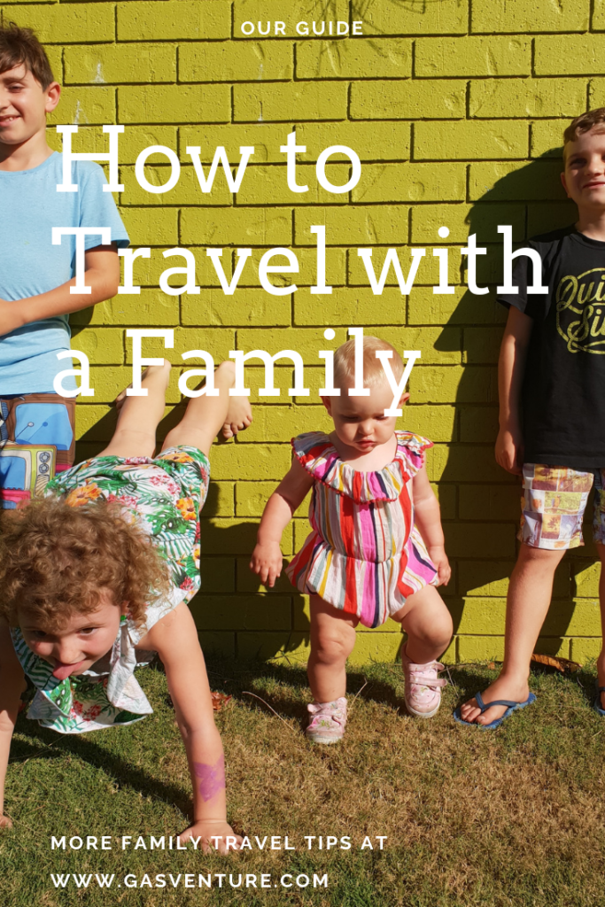 How to Travel with a Family