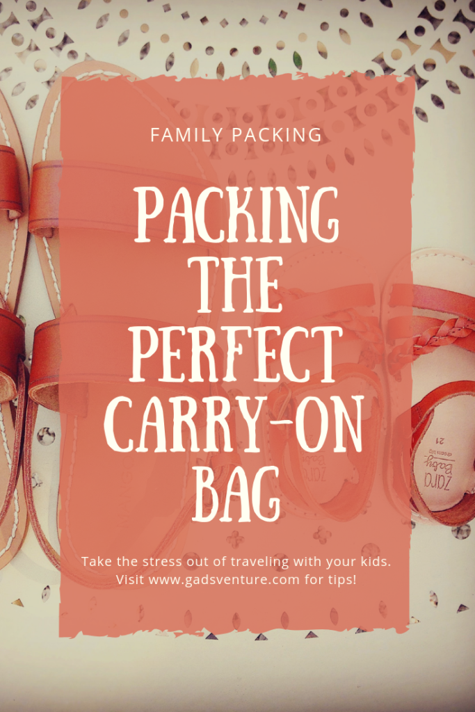 Packing the perfect carry on bag