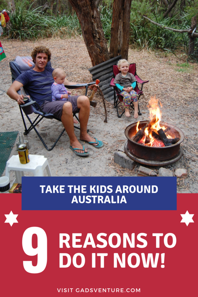 Take the Kids Around Australia