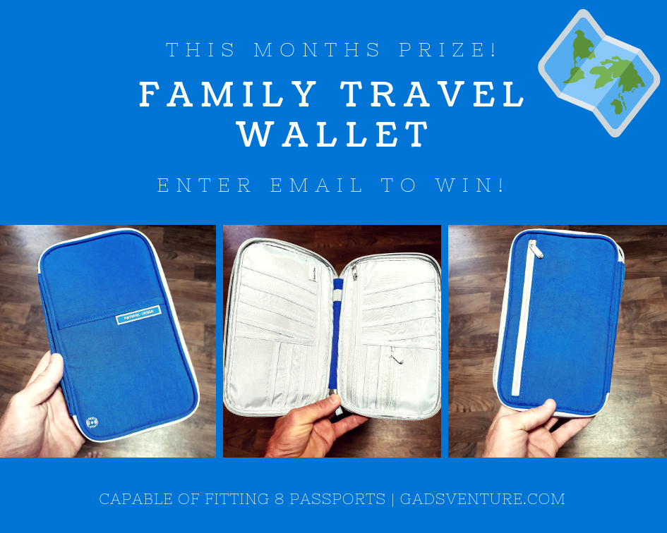 Travel Wallet Giveaway