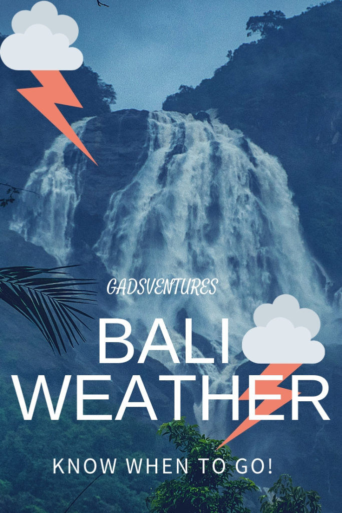 Bali weather varies all year, so be prepared for anything.  Still there are best times to travel to Bali. #Bali #Balitravel #Holidaydestinations