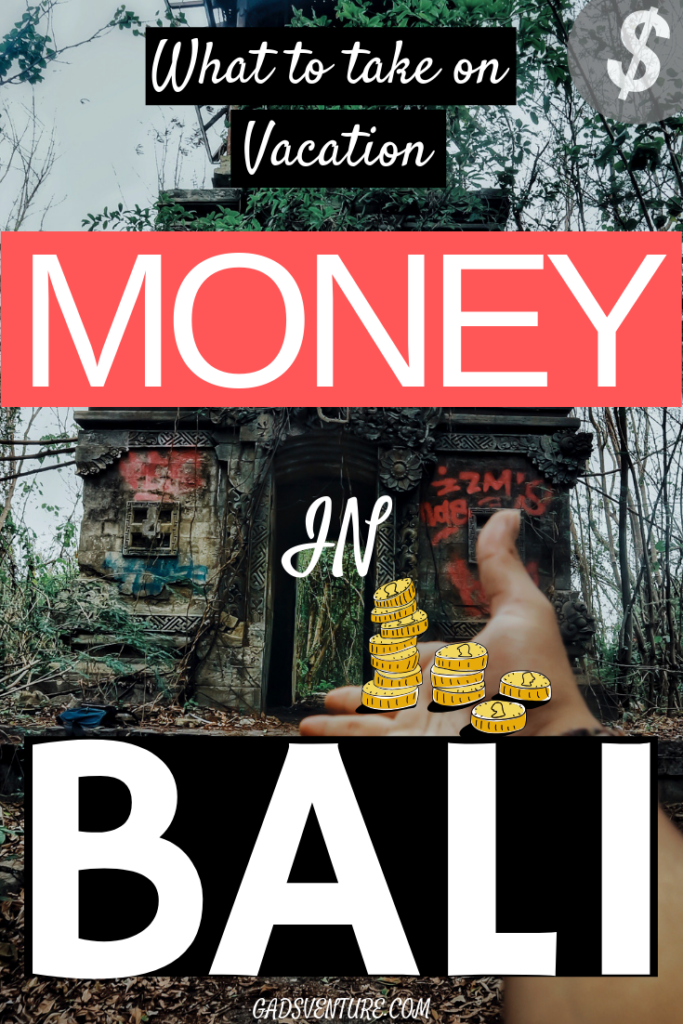 Money in Bali, what kind of money do I take? How much? Do I take a Credit card? Find out Here! #Bali #Balitravel #money
