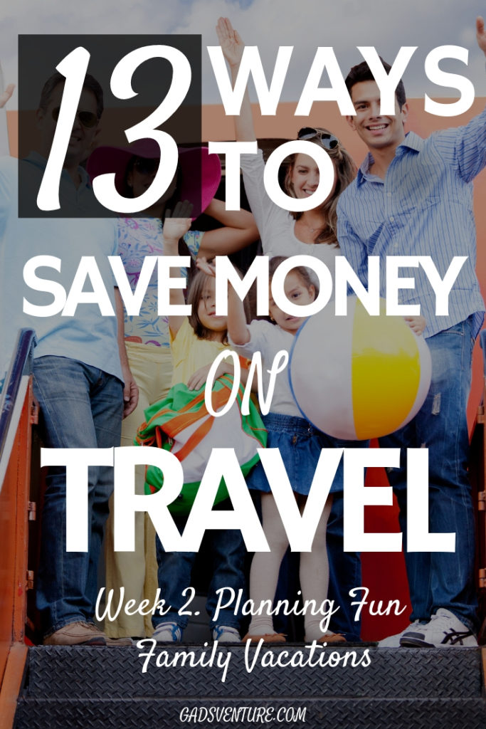 13 Ways to Save Money on Travel