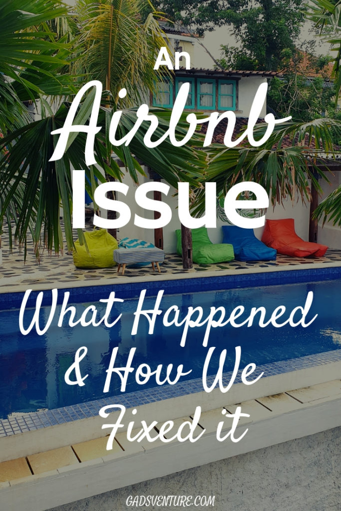 An Airbnb Issue