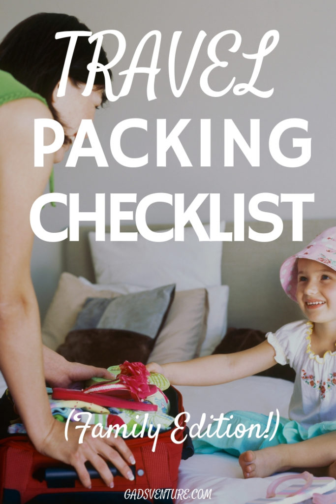 Travel Packing Checklist - Family addition. Pack your bags the right way for you next holiday. #Familytravel #worldtravel #travelpacking