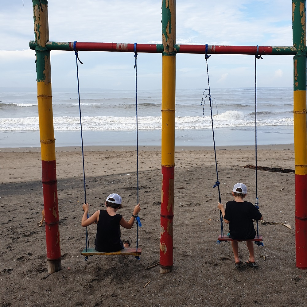 family travel guide canggu bali