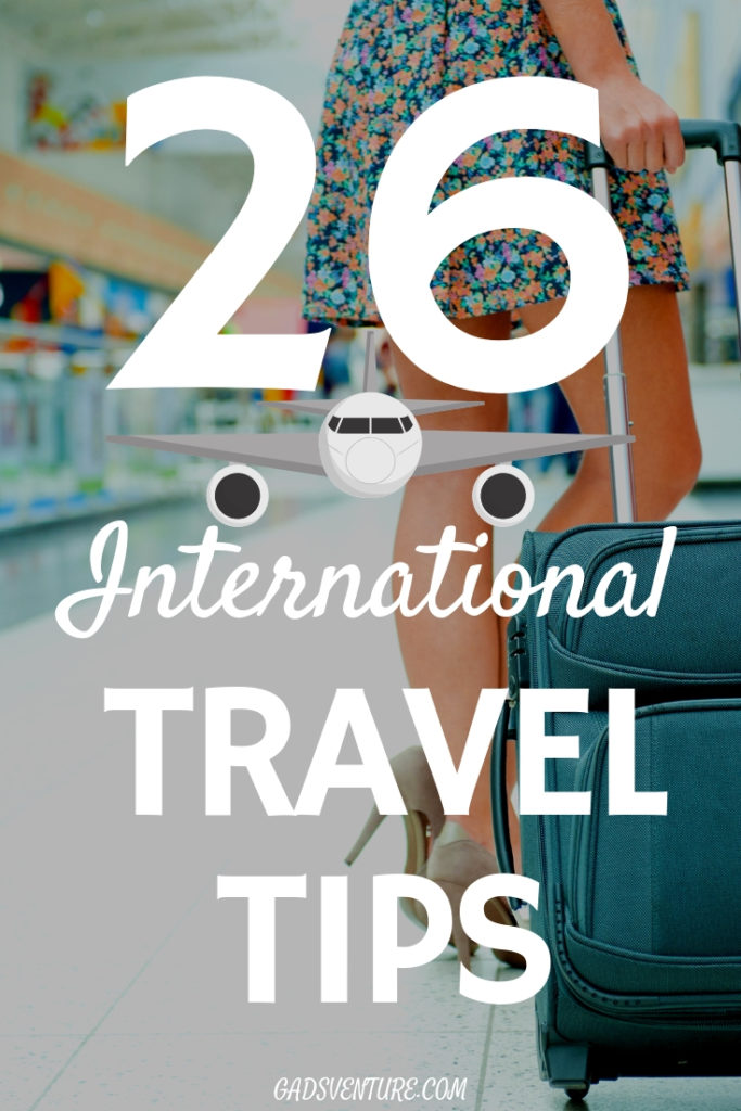 international travel tips and advice