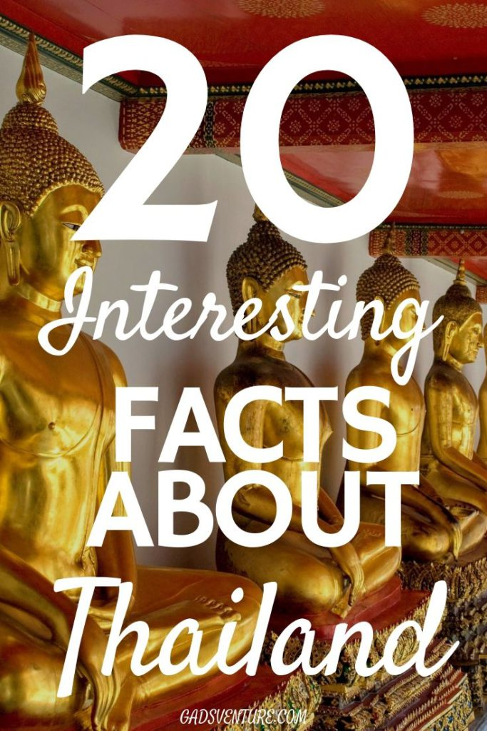 20 Interesting Facts About Thailand