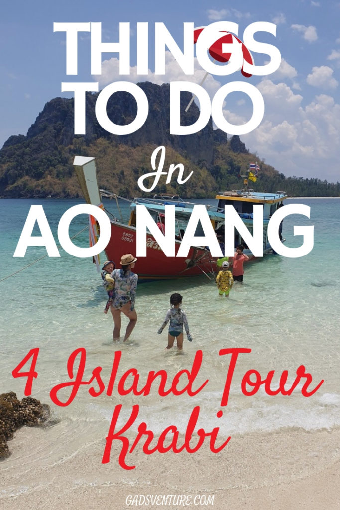 Things to Do in Ao Nang - 4 Island Tour Krabi