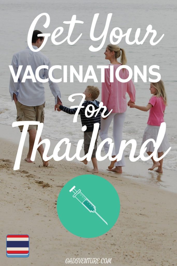 Vaccinations for Thailand