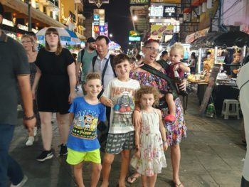 Bangkok Thailand with Kids