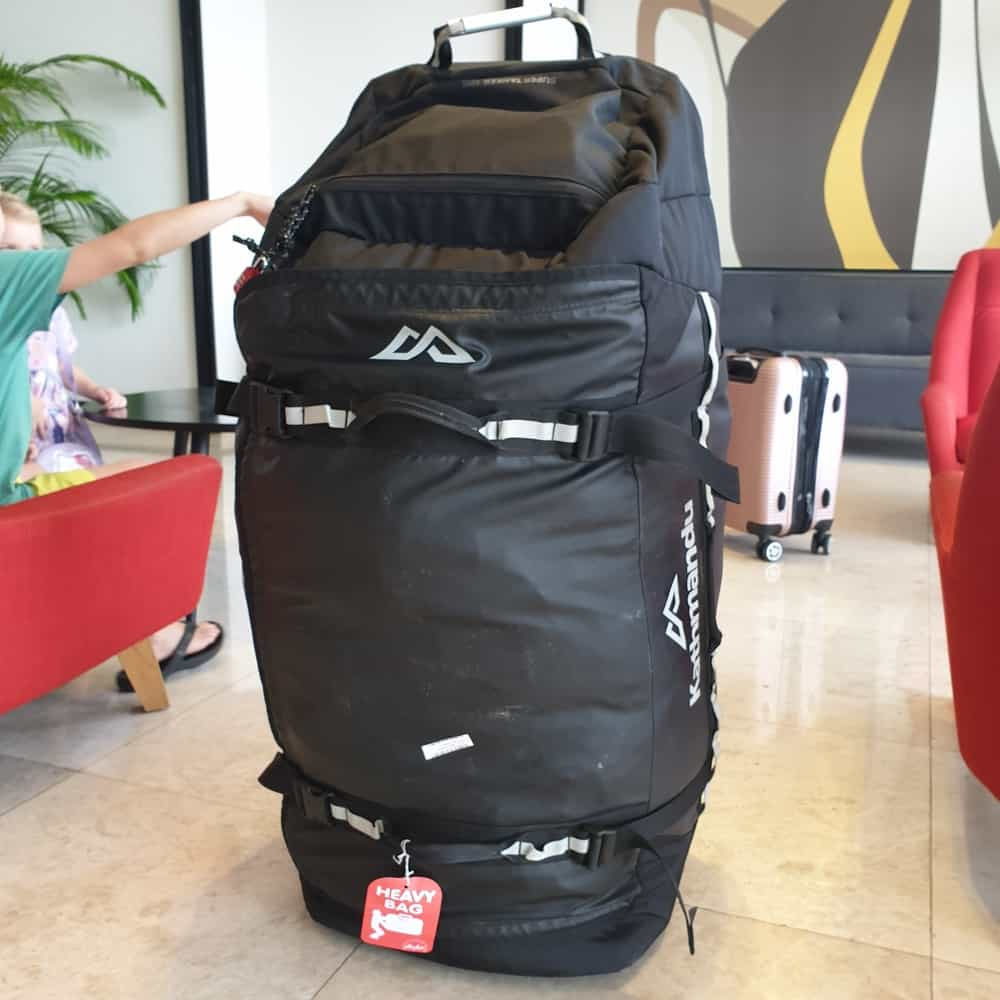 Duffel Bag with Wheels