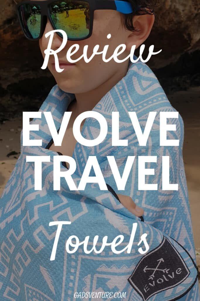 Evolve Travel Towels